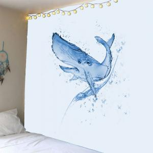 Waterproof Water Shark Pattern Wall Hanging Tapestry