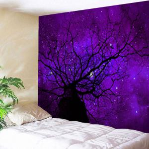 Starry Sky Tree Wall Hanging Tapestry