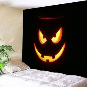 Halloween Graphic Wall Decor Tapestry - Black - W91 Inch * L71 Inch