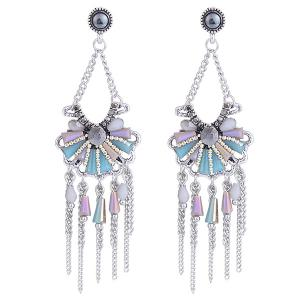 Fringe Boho Beaded Drop Earrings