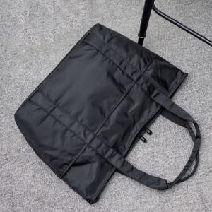 Stitching Nylon Shoulder Bag -