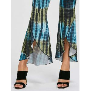 Cover Up Flare High Low Pants - Multicolore M