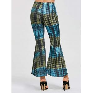 Cover Up Flare High Low Pants - Multicolore XL