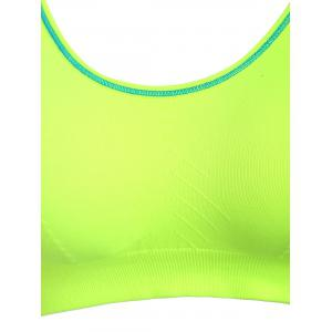 Adjustable Padded Sports Longline Racerback Bra -