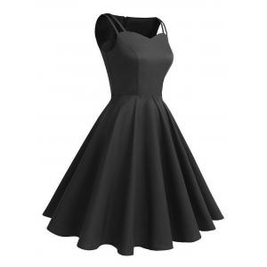 Vintage Cut Out Pin Up Dress -