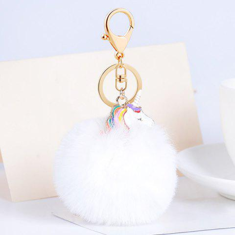 Cheap Pendant Pompon Puff Ball Keychain