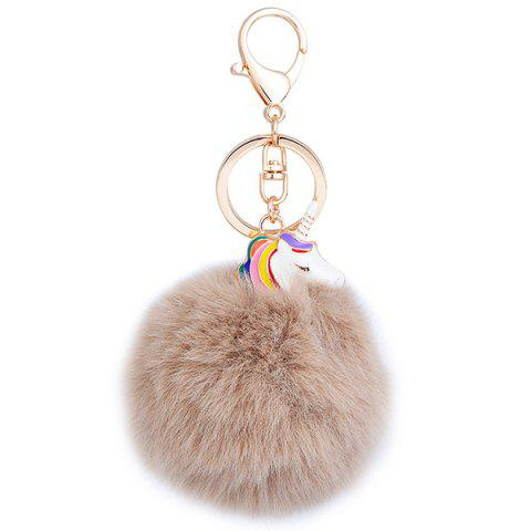 Discount Pendant Pompon Puff Ball Keychain