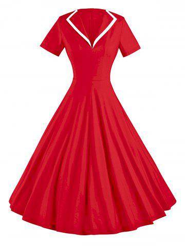 Outfit Vintage Skate Party Pin Up Dress
