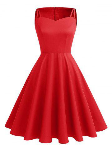 Outfit Vintage Cut Out Pin Up Dress