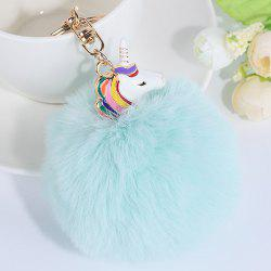 Pendant Pompon Puff Ball Keychain -