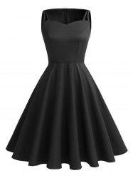 Vintage Cut Out Pin Up Dress