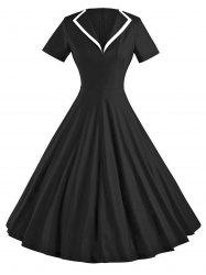 Vintage Skate Party Pin Up Dress -