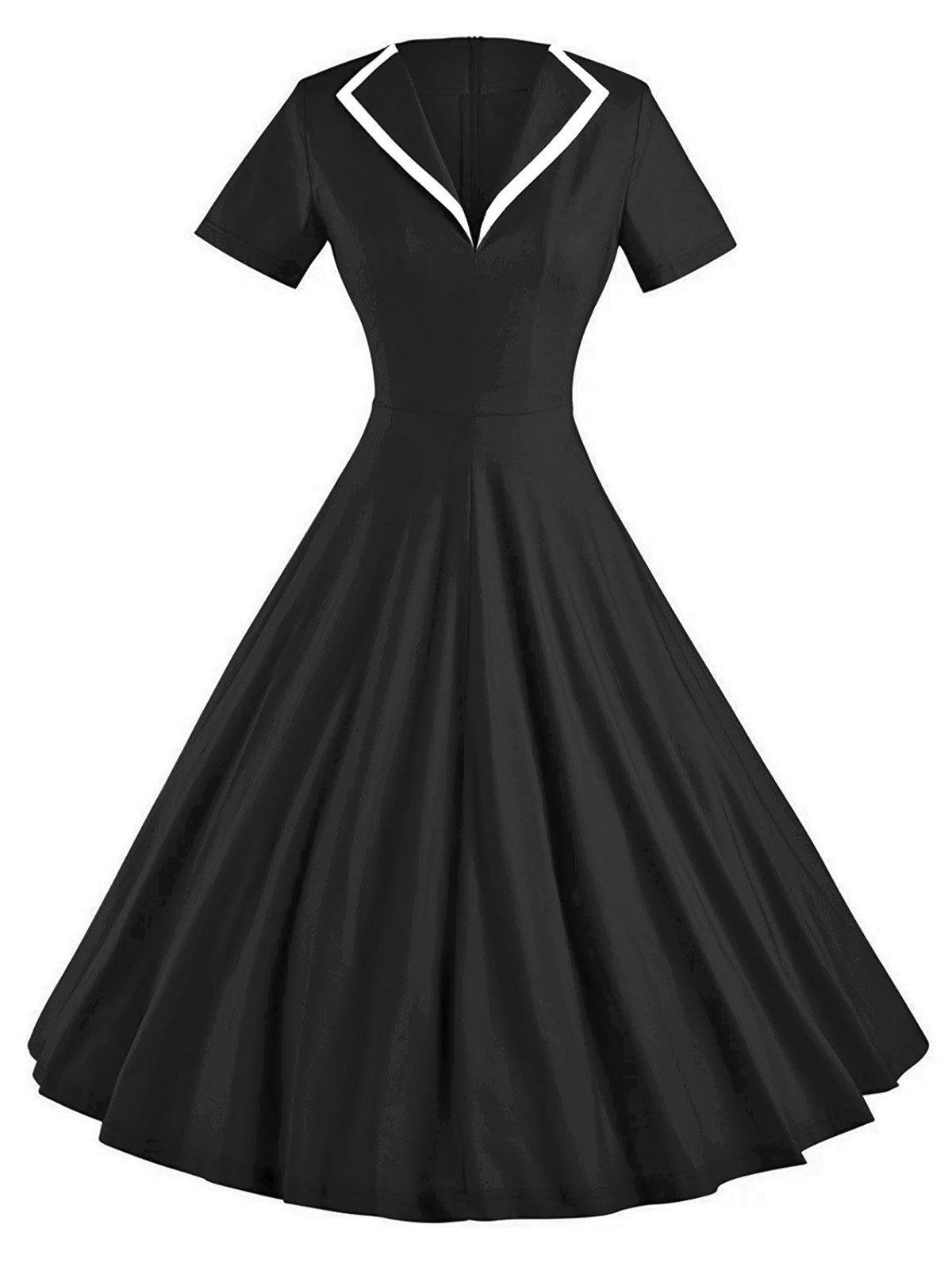 Best Vintage Skate Party Pin Up Dress