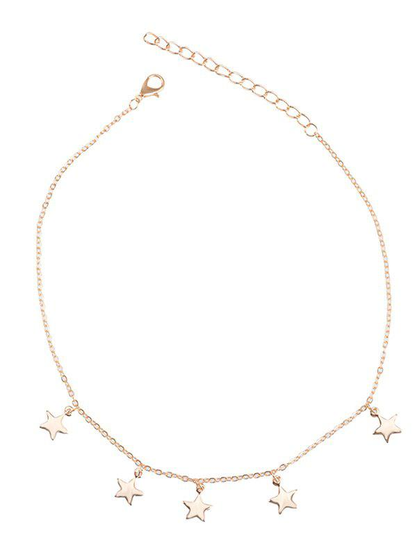 Affordable Star Charm Chain Collarbone Necklace