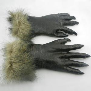 Halloween Party Accessories Wolf Claw Gloves -