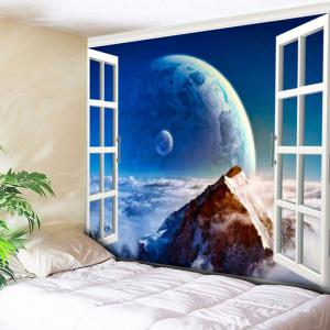 Planet Print Wall Hanging Bedroom Tapestry