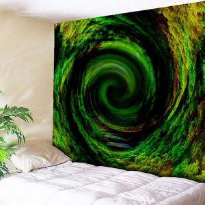 Vortex Tree Hole Printed Wall Art Tapestry