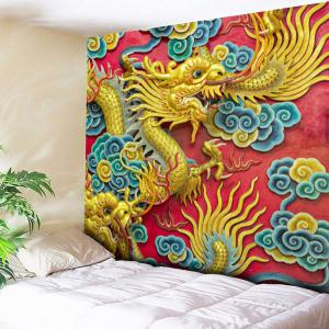 Wall Hanging Chinese Dragon Printed Tapestry