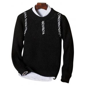 Sennit Design Crew Neck Sweater