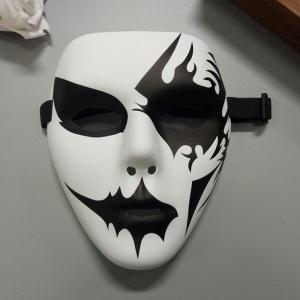 Halloween Party Accessories Hand Painted Mask - White - One Size