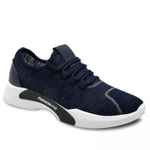 Low-top Mesh Sneakers - Blue - 40
