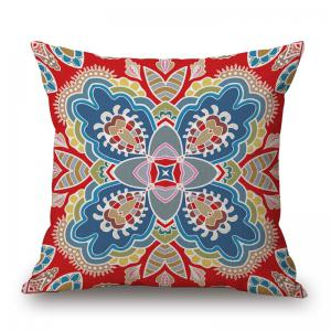 Ethnic Pattern Decorative Linen Sofa Pillowcase