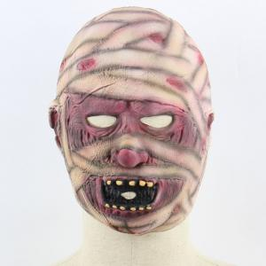 Halloween Mummy Patterned Mask