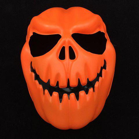 Discount Halloween Party Accessories Pumpkin Skull Mask - ORANGE  Mobile