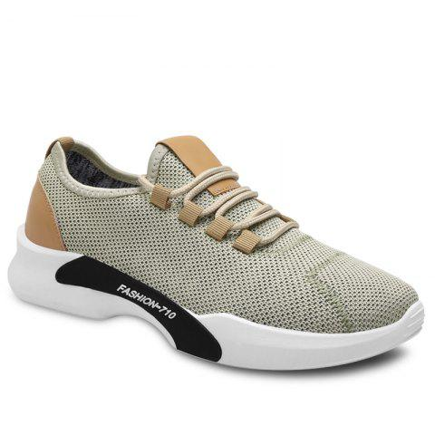 Trendy Low-top Mesh Sneakers