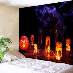 Wall Hanging Halloween Pumpkin Lantern Tapestry