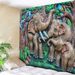Elephant Tapestry Animal Wall Hanging