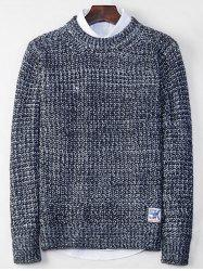 Crew Neck Tweed Sweater