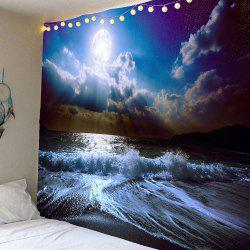 Tidewater Cloud Pattern Waterproof Wall Art Tapestry