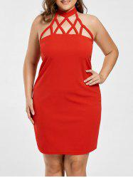 Bodycon Strappy Plus Size Dress