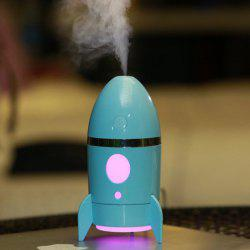 Rocket Air Humidifier With Color Changing LED Night Light -