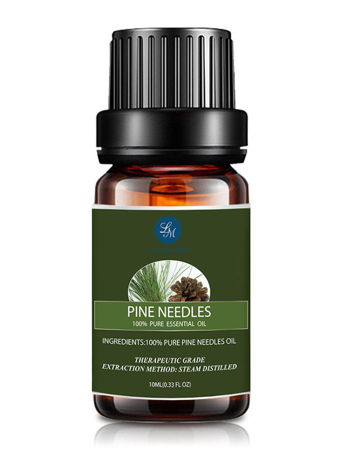 10ml Natural Pine Needles Massage Essential OilBEAUTY<br><br>Color: BLACKISH GREEN; Net weight(g/ml): 10ml*1; Item Type: Pure Essential Oil; Product weight: 0.0490 kg; Package weight: 0.0500 kg; Product size (L x W x H): 1.00 x 1.00 x 1.00 cm / 0.39 x 0.39 x 0.39 inches; Package size (L x W x H): 1.00 x 1.00 x 1.00 cm / 0.39 x 0.39 x 0.39 inches; Package Content: 1 x Essential Oil;