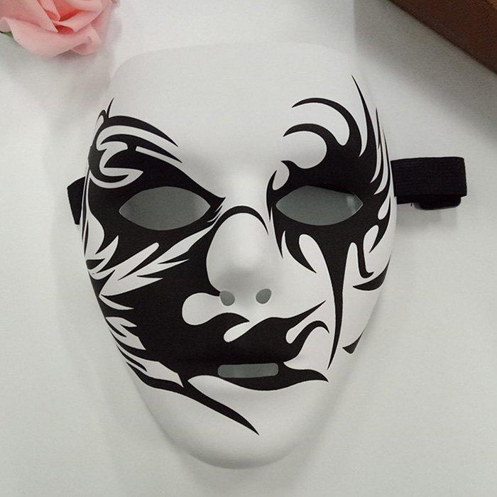 Cheap Halloween Party Accessories Hand-painted Devil Mask