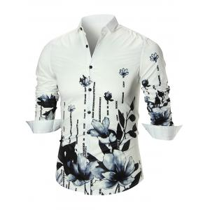 Lotus Flower Long Sleeve Shirt
