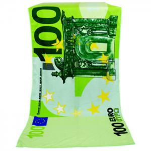 Serviette de bain à absorption d'eau de 100 euros Note Pattern -