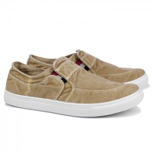 Slip On Elastic Band Canvas Shoes