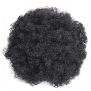 Large Fluffy Afro Curly Heat Resistant Synthetic Bun Chignon