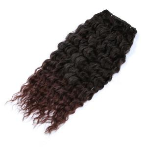 Long Shaggy Deep Weave Heat Resistant Synthetic Hair Weaves -