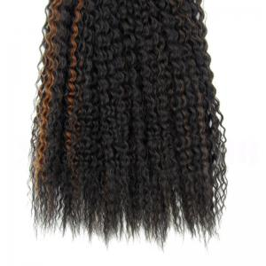 Long Fluffy Curly Heat Resistant Fiber Hair Weaves -