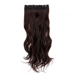 Long Clip In Slightly Curly Hair Extension
