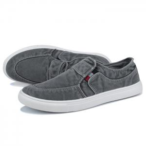 Slip On Elastic Band Canvas Shoes -