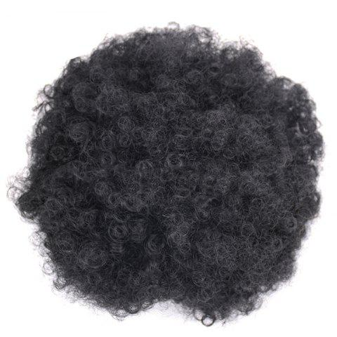 Fashion Large Fluffy Afro Curly Heat Resistant Synthetic Bun Chignon