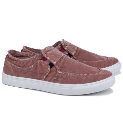 Latest Slip On Elastic Band Canvas Shoes