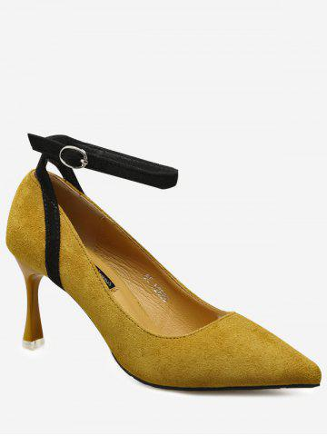 Shop Ankle Strap Pointed Toe Pumps
