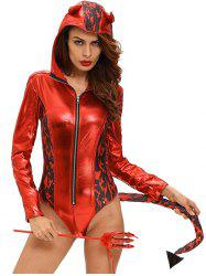 Devil Halloween Cosplay Bodysuit