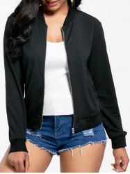 Zip Up Long Sleeve Jacket